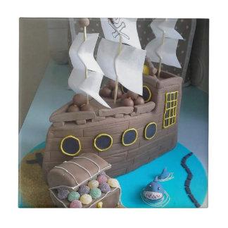 Ship cake 1 tile