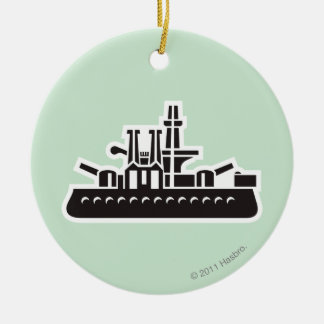 Ship Ceramic Ornament