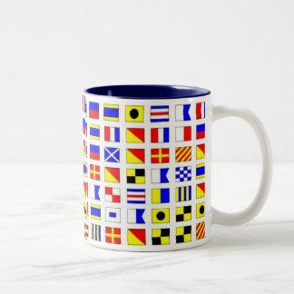 SHIP FLAGS COFFEE MUG
