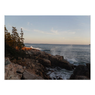 Ship Harbor (Bass Harbor, ME) Poster