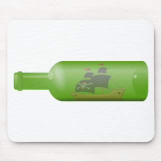 Ship in a bottle mouse pad