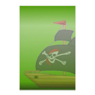 Ship in a Bottle Stationery