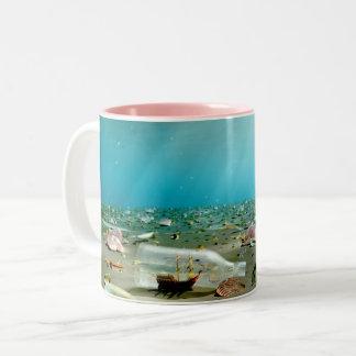 Ship-in-a-Bottle Wreck Mug
