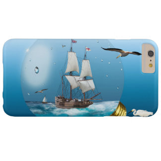 Ship in a light bulb barely there iPhone 6 plus case
