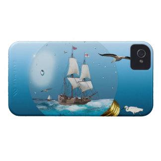 Ship in a light bulb iPhone 4 Case-Mate case