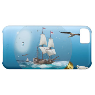 Ship in a light bulb iPhone 5C covers