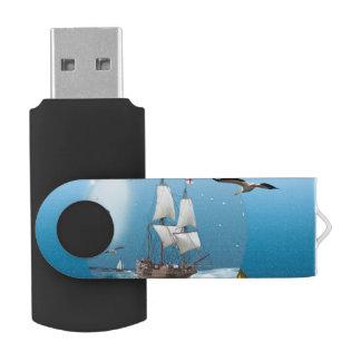 Ship in a light bulb USB flash drive