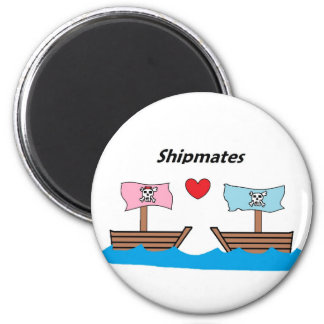 ship mates 2 inch round magnet