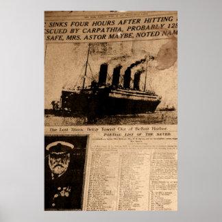 Ship of Dreams Lost Poster