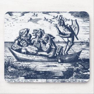 SHIP OF FOOLS - PIETER VAN DER HEYDEN MOUSE PAD