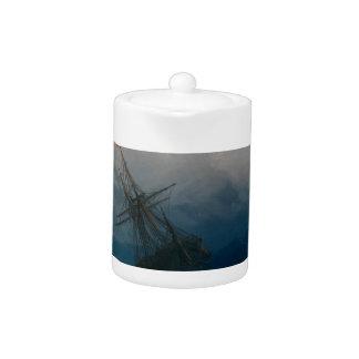 Ship on Stormy Seas, Ivan Aivazovsky -
