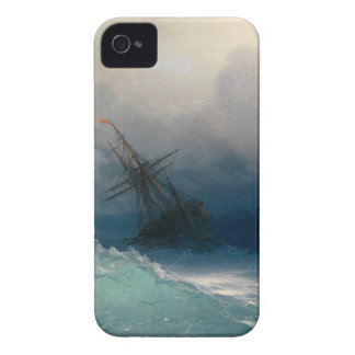 Ship on Stormy Seas, Ivan Aivazovsky - iPhone 4 Cover