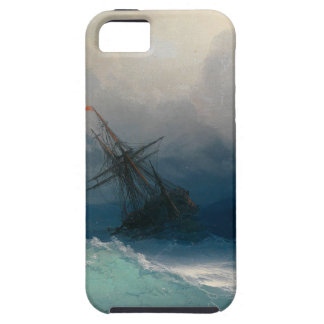 Ship on Stormy Seas, Ivan Aivazovsky - iPhone 5 Covers