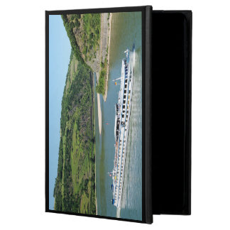 Ship on the Rhine with Oberwesel Powis iPad Air 2 Case