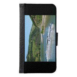 Ship on the Rhine with Oberwesel Samsung Galaxy S6 Wallet Case