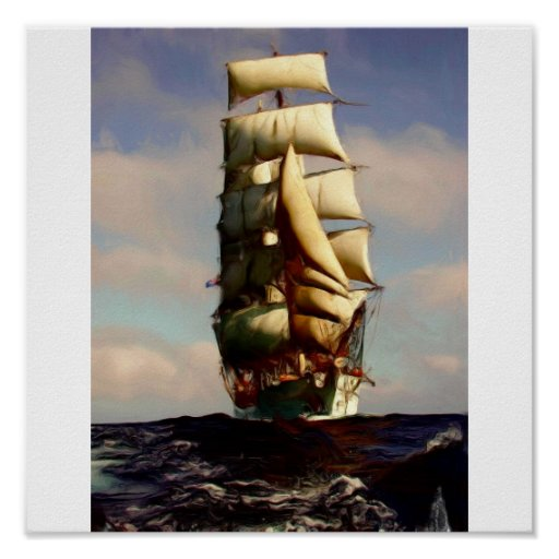 Ship_Painting Poster