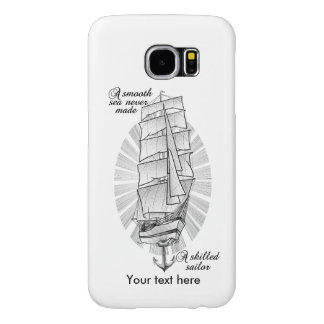 Ship Sailors Tattoo Samsung Galaxy S6 Cases