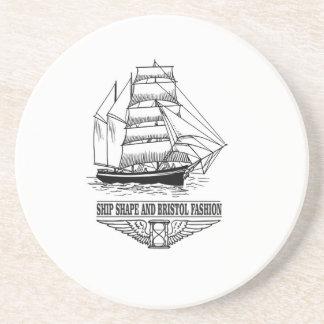 ship shape and Bristol fashion Coasters