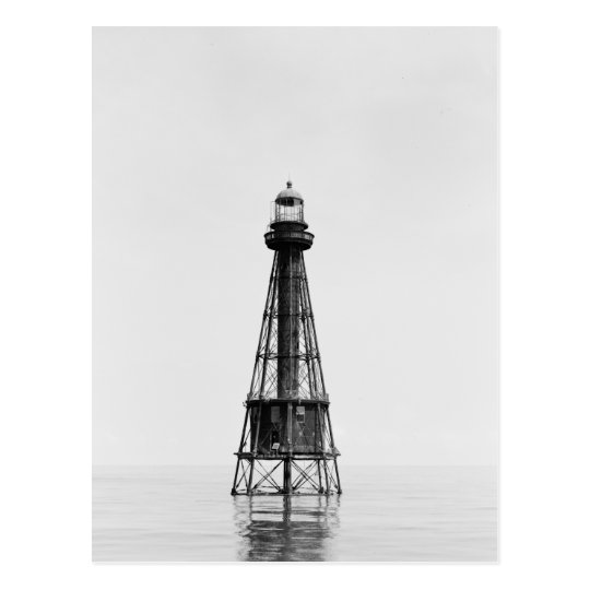 Ship Shoal Light Station Postcard