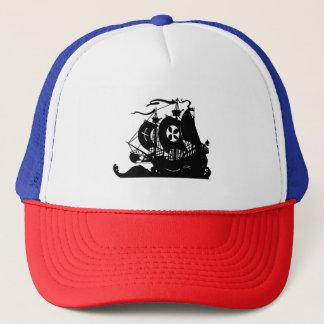 Ship Silhouette Trucker Hat