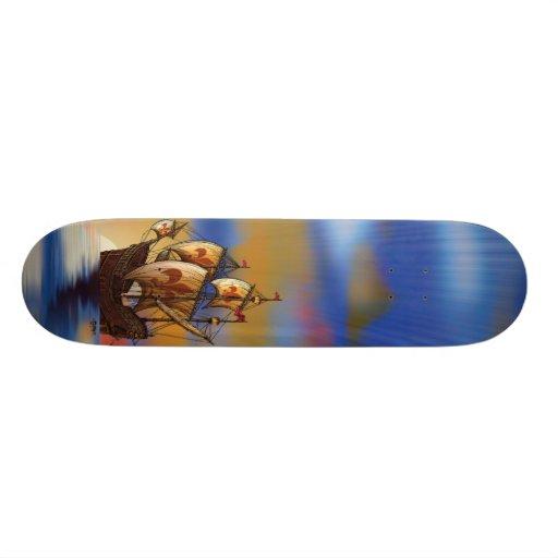 Ship Skateboard
