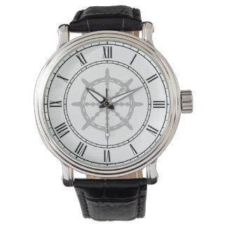 Ship Steering Wheel Wrist Watch