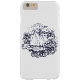 Ship Stuck in the Storm Barely There iPhone 6 Plus Case