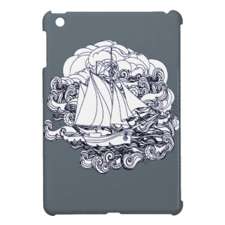 Ship Stuck in the Storm Case For The iPad Mini