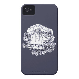 Ship Stuck in the Storm iPhone 4 Case-Mate Case
