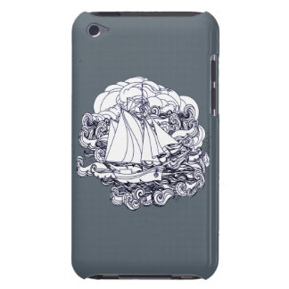 Ship Stuck in the Storm iPod Touch Covers