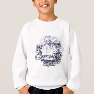Ship Stuck in the Storm Sweatshirt
