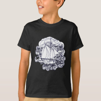 Ship Stuck in the Storm T-Shirt