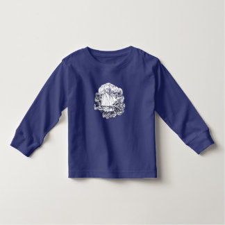 Ship Stuck in the Storm Toddler T-shirt