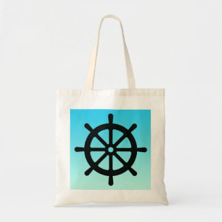 Ship Wheel Captain's Tote Bag