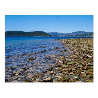 Ship Wreck Cove, Marlborough Sound, NZ - Postcard
