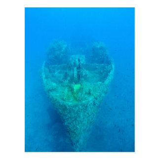 Ship Wreck Postcard