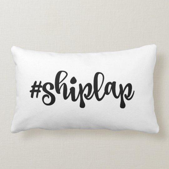 Shiplap Farmhouse Decor Pillow