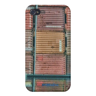 Shipping Containers - Montreal iPhone 4/4S Cover