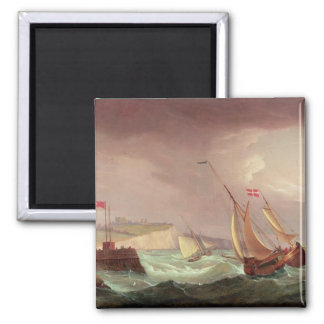Shipping off Dover Refrigerator Magnet