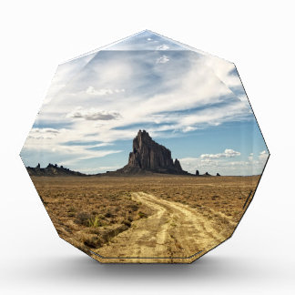 Shiprock New Mexico Mountain Southwest Landscape