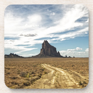 Shiprock New Mexico Mountain Southwest Landscape Beverage Coaster