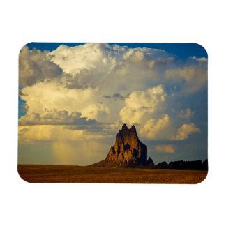 Shiprock vs. Thunderhead Rectangular Photo Magnet
