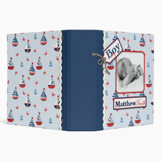 Ships Ahoy! 2 in Baby Album Binders