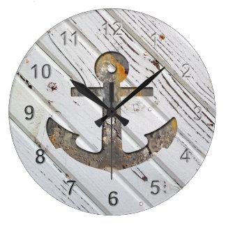 Ship's Anchor. Clocks