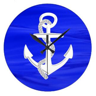 Ship's Anchor Clocks