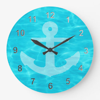 Ship's Anchor. Wall Clocks