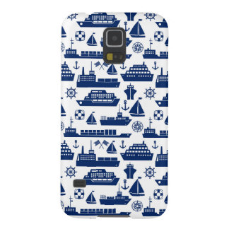 Ships And Boats At Sea Pattern Cases For Galaxy S5