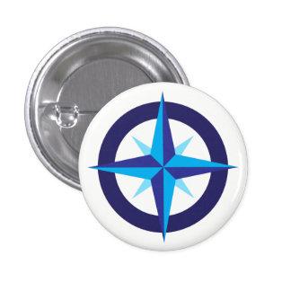 Ship's Compass Star Button
