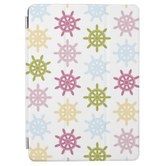 Ships helm pattern iPad air cover