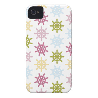 Ships helm pattern iPhone 4 case